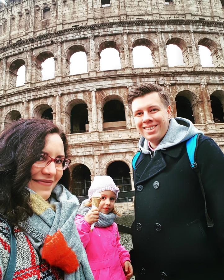 Aventuri  intr-un city-break prin frumoasa Roma