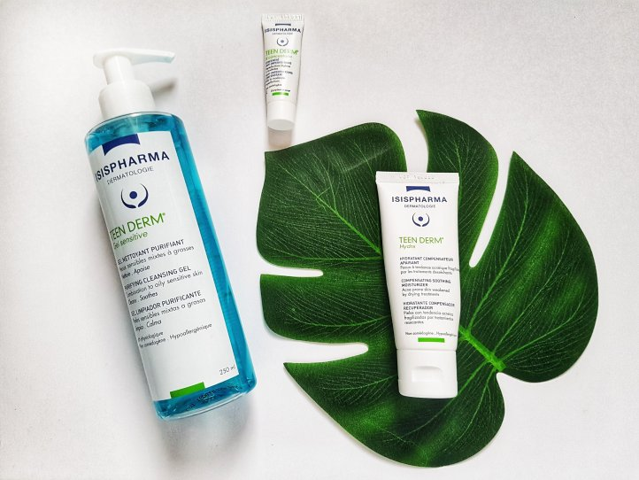 Despre produsele Isispharma si gama Teen Derm pentru acnee