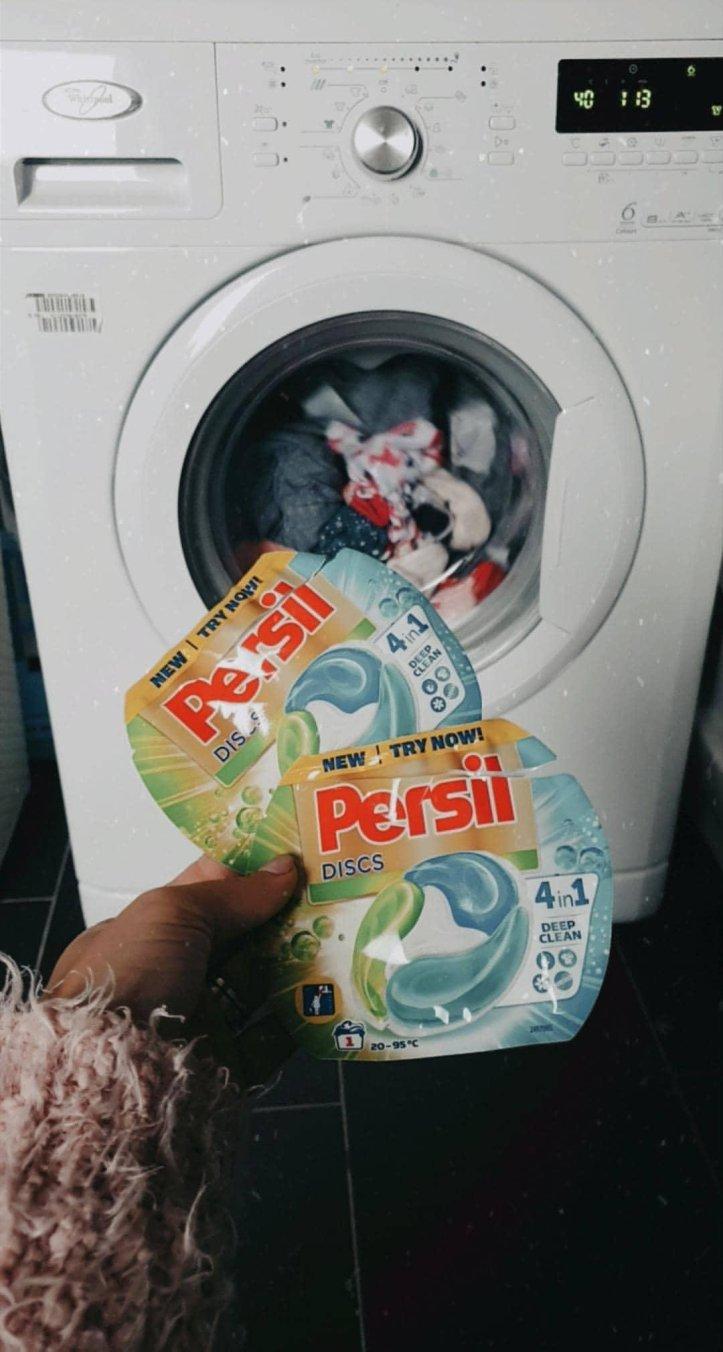 Detergent capsula Persil discs